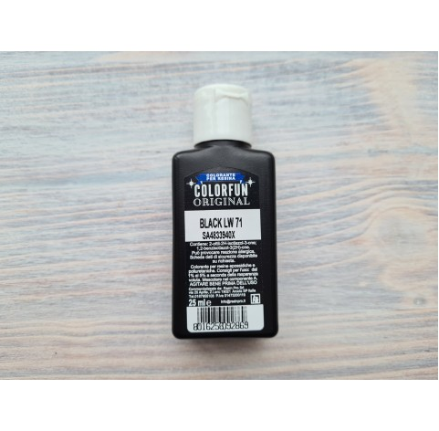 Dye for epoxy resins Colorfun Original, black, 25 ml