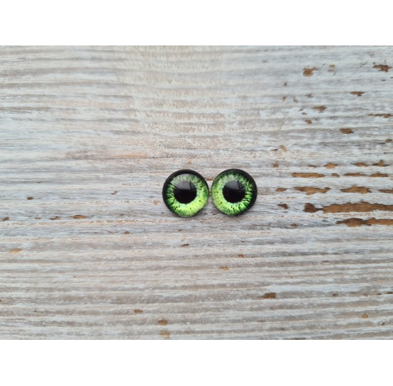 Glass eyes ZA14, ~ Ø 1 cm
