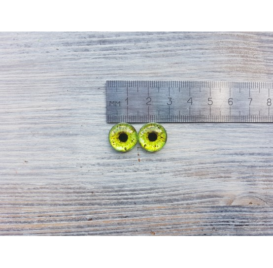 Glass eyes ZA1, ~ Ø 1.4 cm