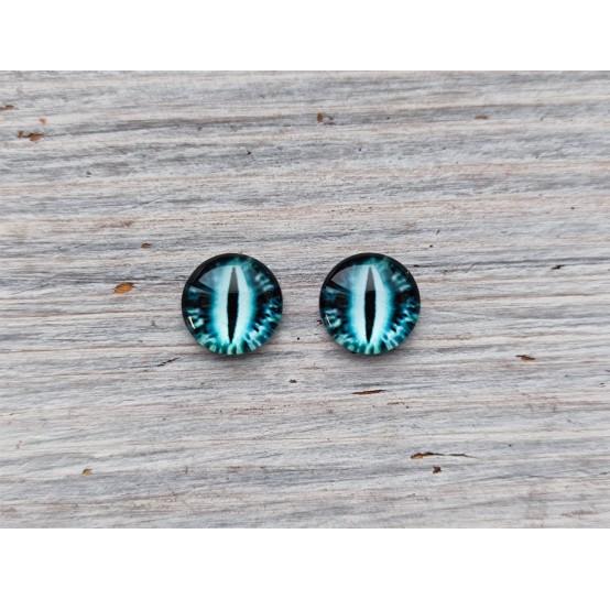 Glass eyes Blue 13, ~ Ø 1 cm