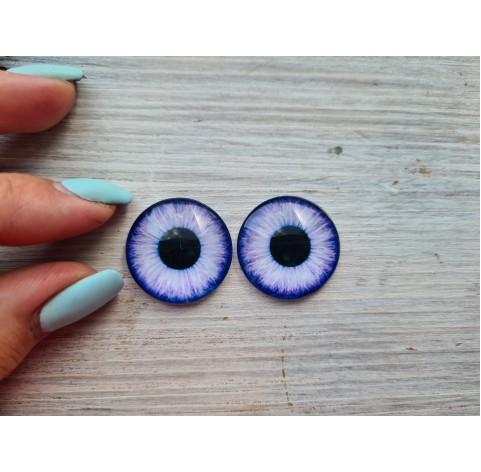 Glass eyes Violet 1, ~2,5 cm