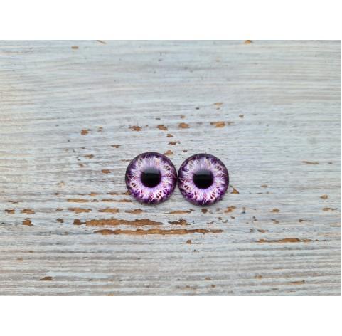 Glass eyes Violet 1, ~ Ø 1 cm