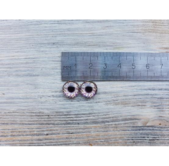 Glass eyes V1, ~ Ø 1.2 cm