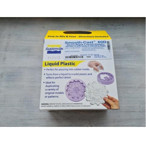 Smooth-Cast 60D polyurethane, liquid plastic, semi-rigid, 0.94kg, cure time 30 min
