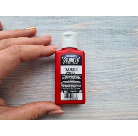 Dye for epoxy resins Colorfun Original, red, 25 ml