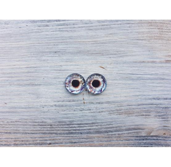 Glass eyes Z4, ~ Ø 1.4 cm