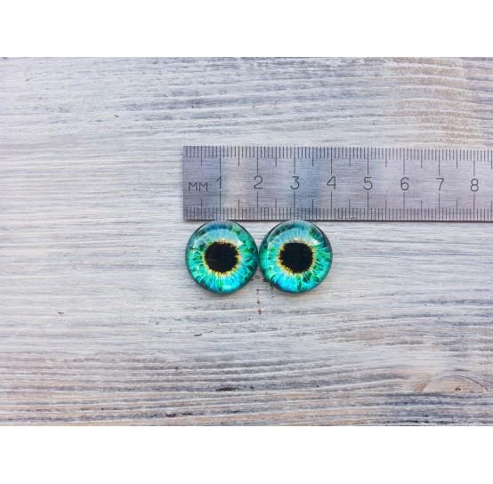 Glass eyes ZA4, ~ Ø 2 cm