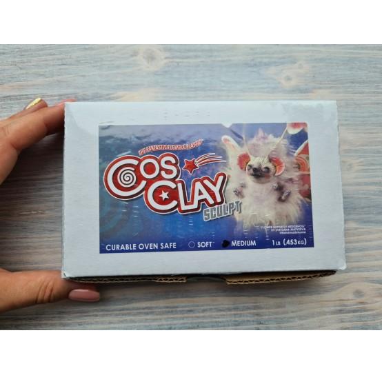 CosClay Sculpt Gray Medium Firm, 453 g (1 lb)