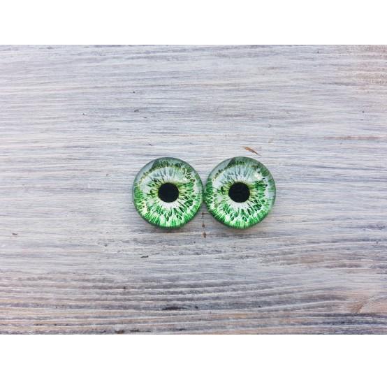 Glass eyes ZA2, ~ Ø 1.4 cm