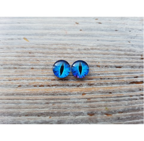 Glass eyes Blue 4, ~ Ø 0.6 cm