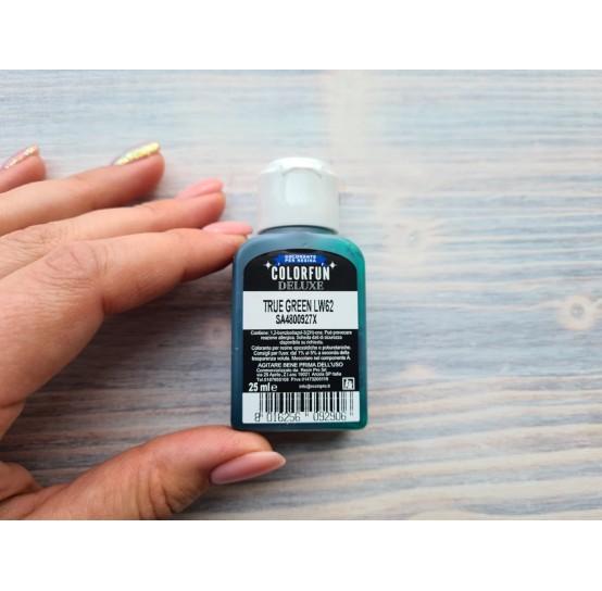 Dye for epoxy resins Colorfun Deluxe, true green, 25ml