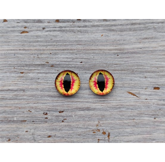 Glass eyes OR3, ~ Ø 1 cm