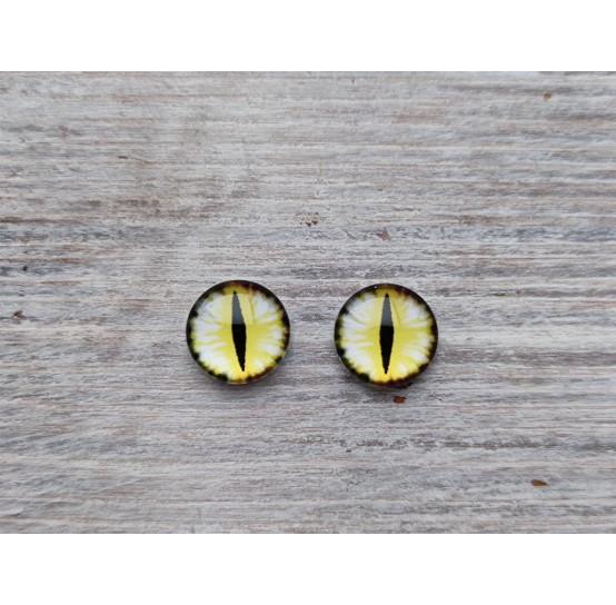 Glass eyes DZ3, ~ Ø 1 cm