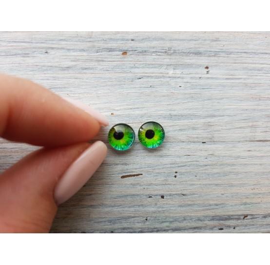 Glass eyes ZA9, ~ Ø 0.8 cm