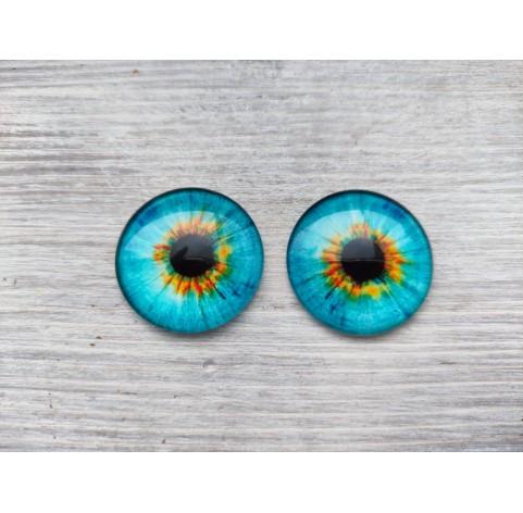 Glass eyes Blue 2, ~ Ø 3 cm