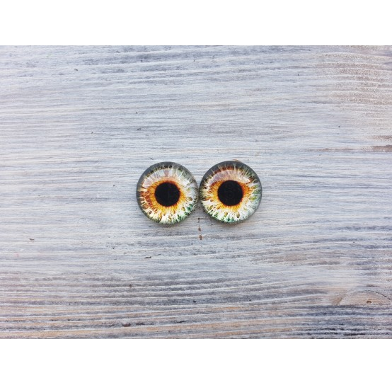 Glass eyes B2, ~ Ø 1.8 cm