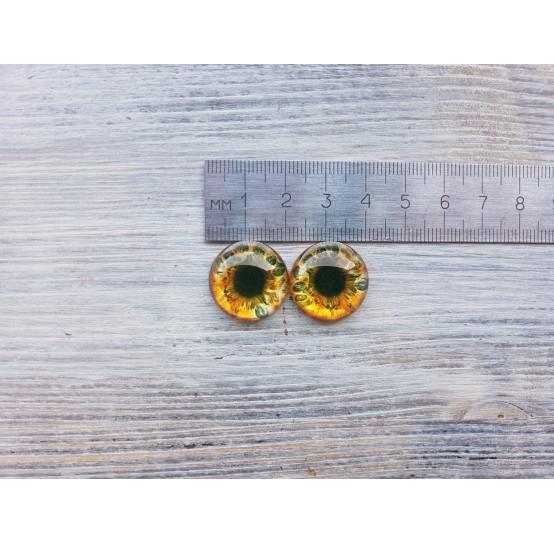 Glass eyes B1, ~ Ø 2 cm