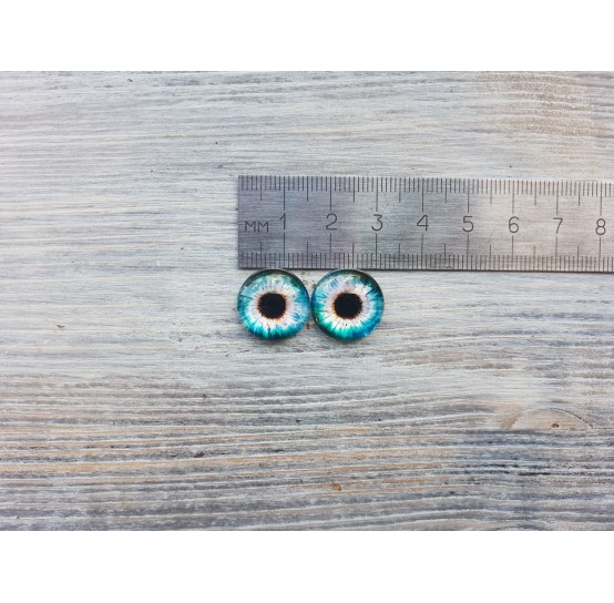 Glass eyes Z3, ~ Ø 1.6 cm