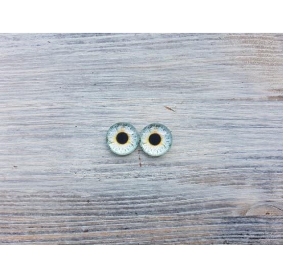Glass eyes Z1, ~ Ø 1.4 cm