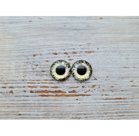 Glass eyes ZA12, ~ Ø 0.8 cm
