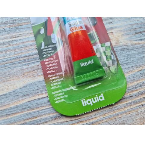 Bison Super glue, liquid, 3 g