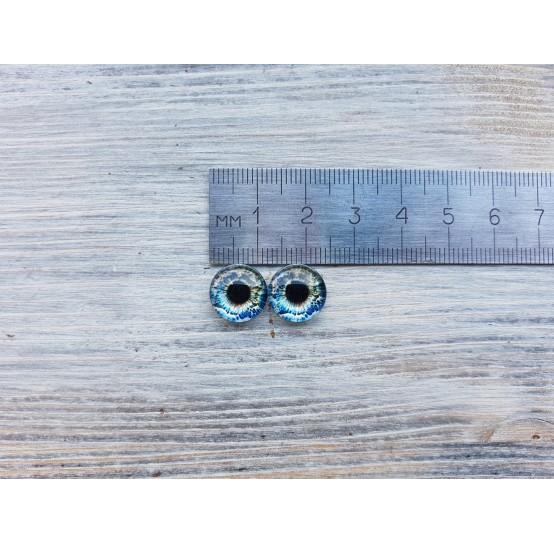 Glass eyes Z4, ~ Ø 1.2 cm