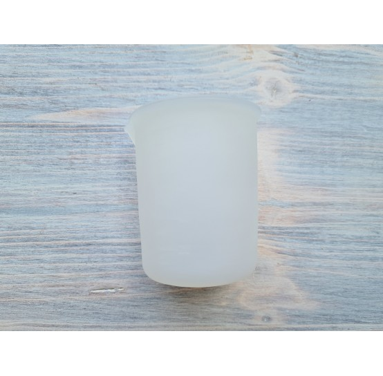 Silicone graduated cup