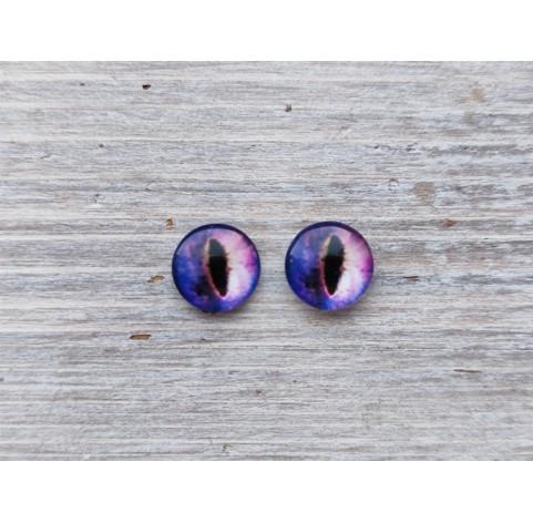Glass eyes Violet 2, ~ Ø 1 cm