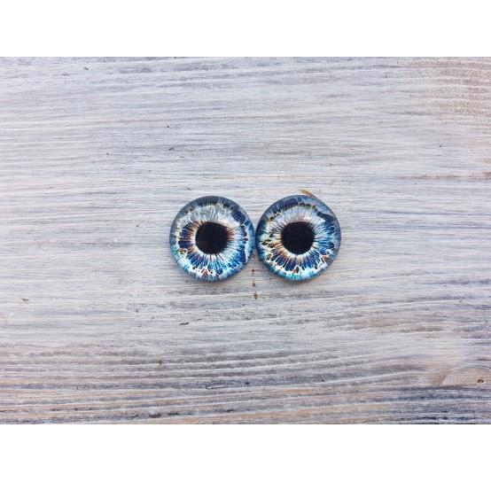 Glass eyes Z4, ~ Ø 2 cm