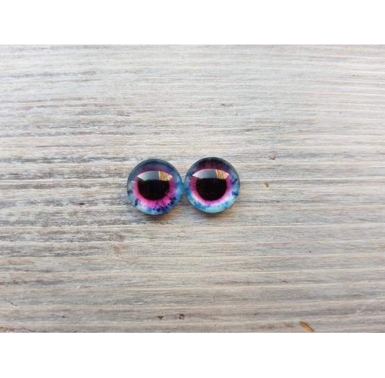 Glass eyes Blue 7, ~ Ø 1 cm