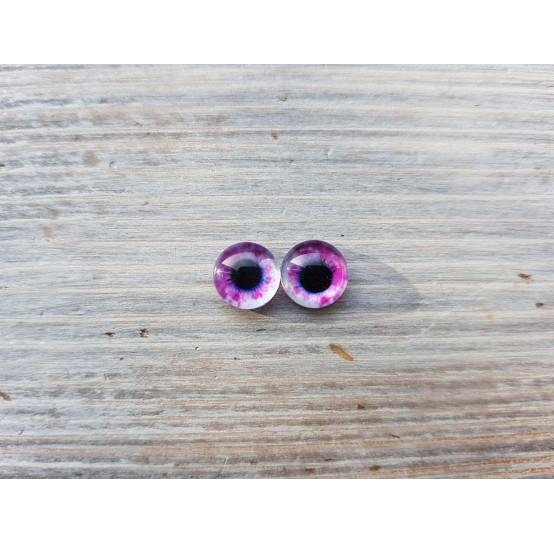 Glass eyes Violet 3, ~ Ø 0.8 cm