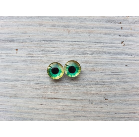 Glass eyes ZA6, ~ Ø 0.8 cm
