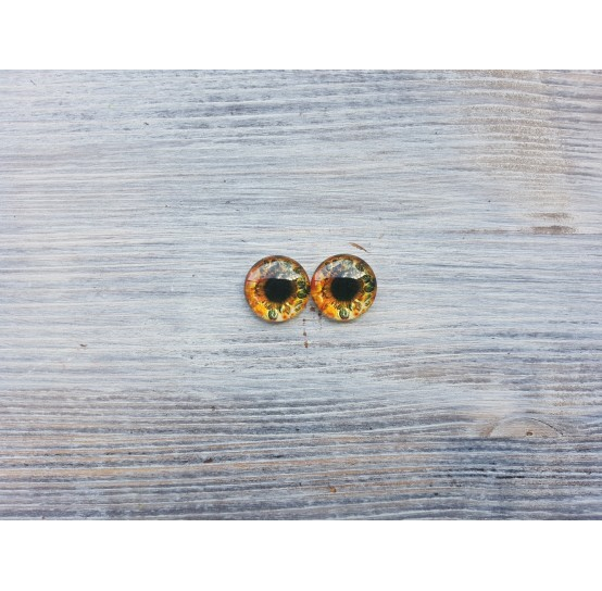 Glass eyes B1, ~ Ø 1.6 cm