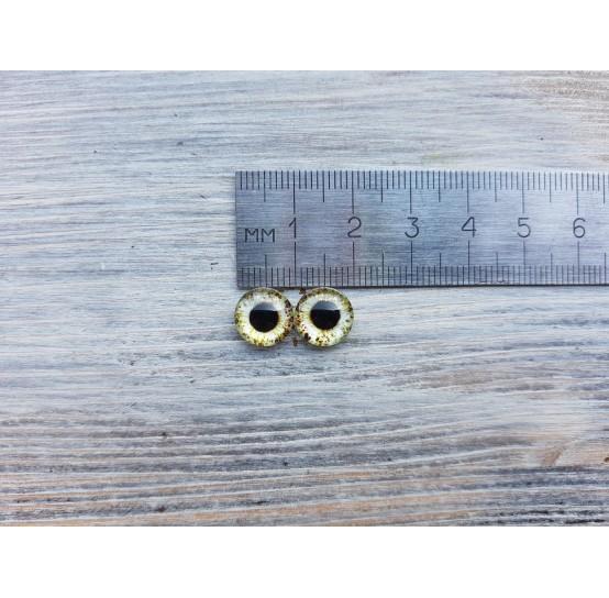Glass eyes Green 3, ~ Ø 1 cm
