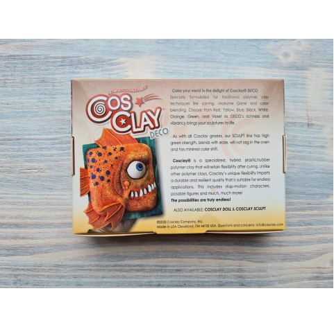 CosClay Deco Red, 453 g (1 lb)