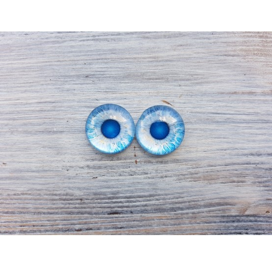 Glass eyes Z2, ~ Ø 2 cm