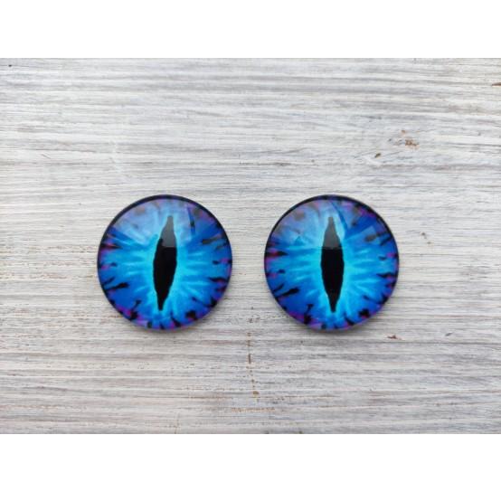 Glass eyes Blue 1, ~ Ø 3 cm