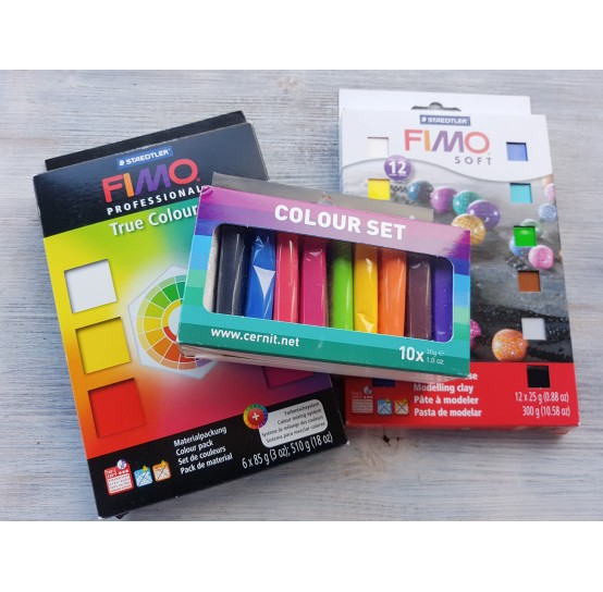 Polymer clay kits (16)