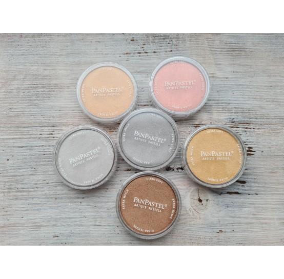 PanPastel metallic colors 9ml pans (6)