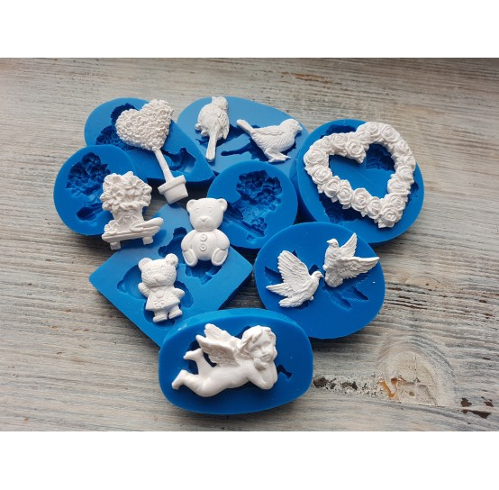 Siliсone molds for scrapbooking