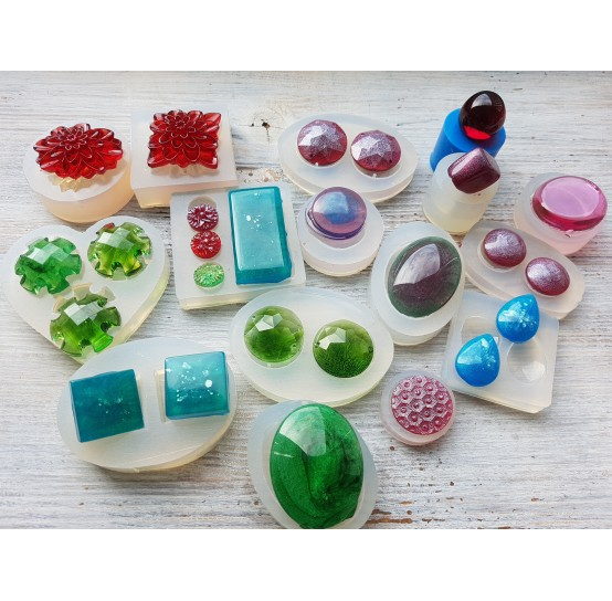 Silicone molds for epoxy