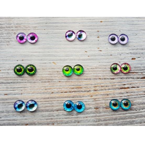 Glass eyes 0,6 сm