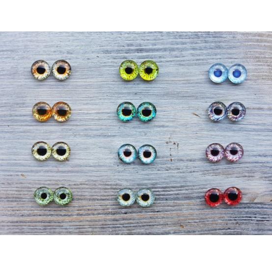 Glass eyes 1 cm (40)