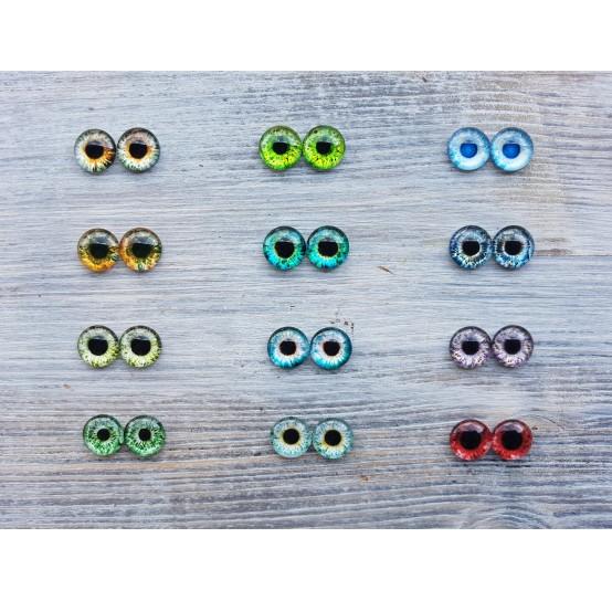 Glass eyes 1,2 cm