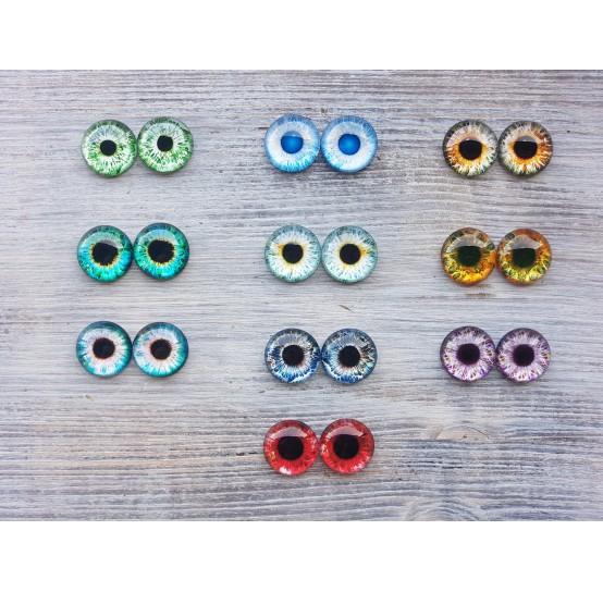 Glass eyes 2 cm (12)