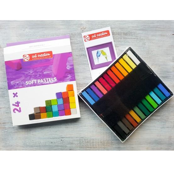 Soft pastel (Pastel crayons)