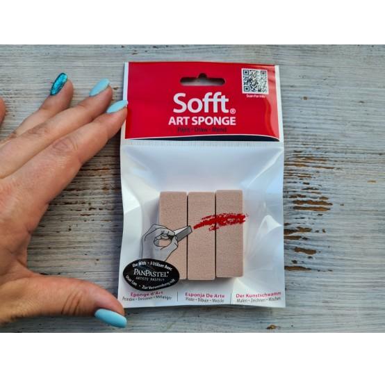 Sofft Art Sponge : Flat, 3 psc.