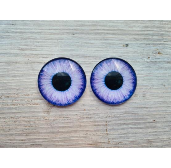 Glass eyes Violet 1, ~ Ø 3 cm