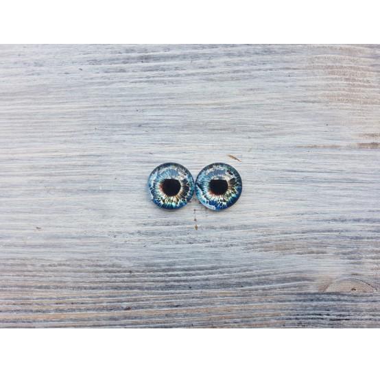Glass eyes Z4, ~ Ø 1.6 cm
