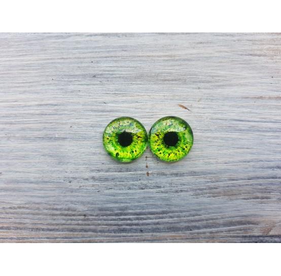 Glass eyes ZA1, ~ Ø 1.6 cm